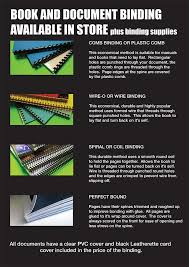 Clancy     s Printing Service has you covered for all your book binding needs  Comb  wire