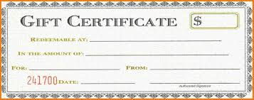 norwex gift certificate template choice image certificate design