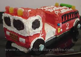 firetruck cakes truck birthday cake decorating ideas cake birthday party ideas