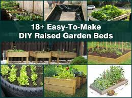 Diy Garden Bed Ideas 18 Easy To Make Diy Raised Garden Beds
