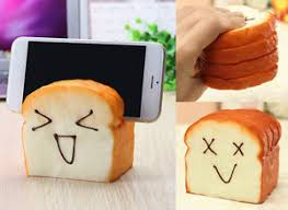 siege jumbo squishies mobile phone seat jumbo squishy bread loaf