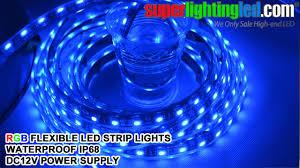 Led Strip Lighting Outdoor by Rgb Waterproof Ip68 Outdoor Use Led Strips Lighting With Mini Rgb