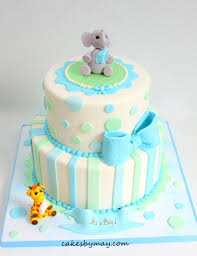 giraffe baby shower cakes elephant and giraffe baby shower cake cake by cakes by