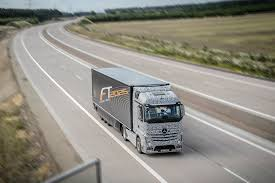 future mercedes truck mercedes tests autonomous future truck 2025 goauto