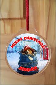paddington acrylic ornament decoration
