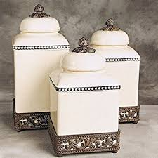 thl kitchen canisters gg collection 3 ceramic canister set with