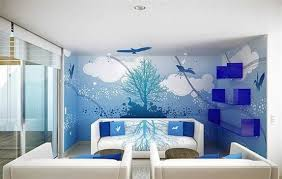 Designer Wall Paints For Living Room Home Design - Designer wall paint