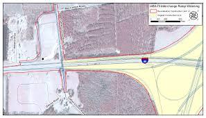 I 95 Map I 73 Environmental Impact Study