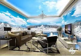 wallpaper for entire wall 3d anctica penguins iceberg entire room wallpaper wall murals art