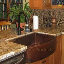 Premier Copper Products  X  Hammered Apron Kitchen Sink - Copper farmhouse kitchen sink