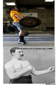 Wimpy Meme - overly manly man s wimpy brother by jema5555 meme center