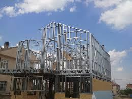 lgs steel construction multipan prefabrik