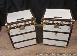 leather luggage trunks archives english antiques