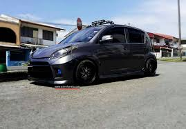 subaru justy stance perodua myvi se lowered share my ride gk208 galeri kereta