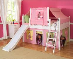 impressive kids low loft bed 2 story playhouse low loft bed w
