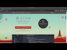 design text editor using c how to create new project c c on atom editor youtube