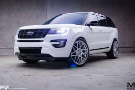 Ford Explorer Sport - 2016 ford explorer mad industries niche alpine mht wheels inc