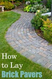 How To Cut Patio Pavers Without A Saw Best 25 How To Lay Pavers Ideas On Pinterest Backyard Pavers