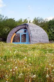eco house made from recycle materials environmentally friendly