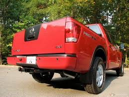 nissan truck titan red proper location of 4x4 badge nissan titan forum