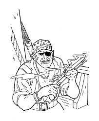 bluebonkers caribbean pirates sea coloring pages pirate