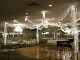 Decorating With Christmas Lights And Tulle by Dance Floor Tulle Draping With Lights Wedding Pinterest