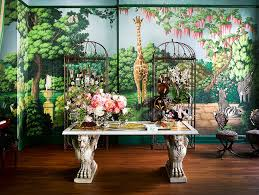 Exotic Interior Design by Interior Design Project By Ken Fulk Features Exotic Patterns