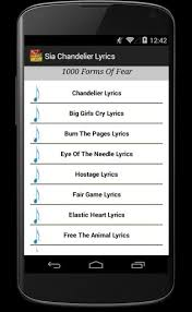 Lyrics To Chandelier Sia Chandelier Lyrics Download Sia Chandelier Lyrics 1 1