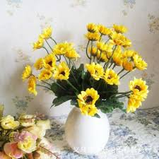Vase Of Sunflowers 2017 14 Small Sunflowers Sunflowers Simulation Artificial Flower
