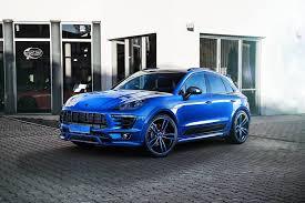 porsche macan techart techart porsche macan looks great in blue automotive99 com
