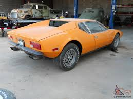 gas monkey cars detomaso pantera barn find rare factory color offered by gas