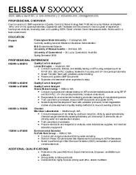 Biotech Resume Sample by Sophisticated Job For This Unbeatable Biotech Resume Image