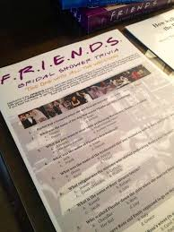 bridal shower question the of honor also created own friends trivia with