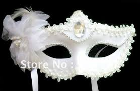 masks for masquerade white masks for masquerade feather plastic acrylic diamond