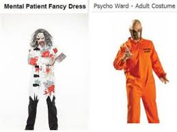 why shocking u0027mental patient u0027 costumes offend people and