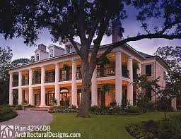 southern plantation home plans eplans plantation house plan sterett springs from the southern