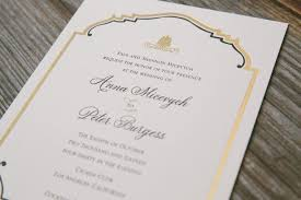 and gold art deco wedding invitations from smock