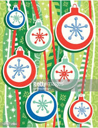 retro ornaments on a funky background vector getty