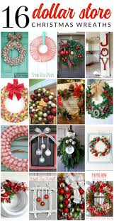 16 gorgeous dollar store christmas wreaths the crazy craft lady