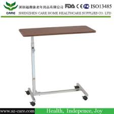 hospital bed tray table china tray table overbed non tilt laptop computer patient hospital