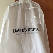 wedding dress garment bag 80 david s bridal dresses skirts david s bridal garment
