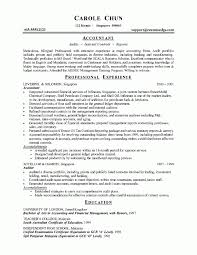 Staff Accountant Resume Example by Sample Resume For Investment Accountant Templates