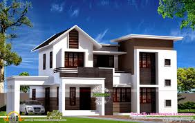 Home Design Plans Modern February Kerala Home Design Floor Plans Modern House Plans Designs