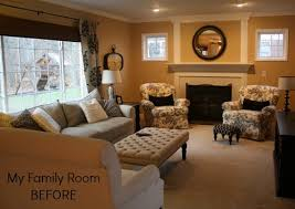 family room makeover my family room makeover progress new paint floors hooked on houses