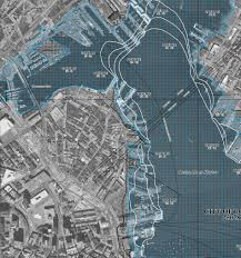 Old Boston Map by Many North End Waterfront Property Owners Will Need Flood