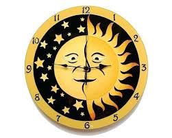 Unique Large Wall Clocks Wall Clock Large Yellow Wall Clock Retro Vintage Colour Large
