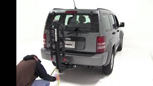2011 jeep liberty hitch review of the yakima doubledown 5 hitch bike rack on a 2012 jeep