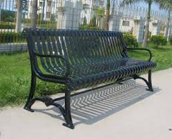 iron park benches cast iron park bench metal outdoor bench cast steel benches view