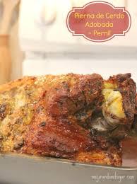 recetas para thanksgiving pernil asado al horno receta o pierna de cerdo