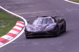 koenigsegg one watch the koenigsegg one 1 return to the nurburgring